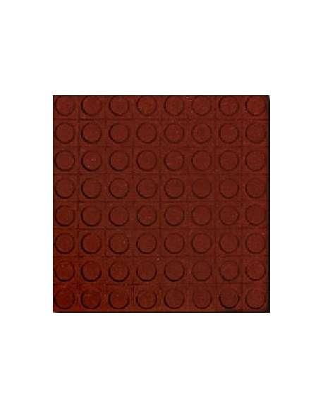 Botón rojo tratado 40x40