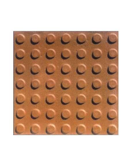 Botón naranja tratado 40x40