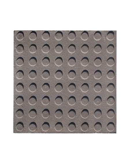 Botón gris tratado 40x40