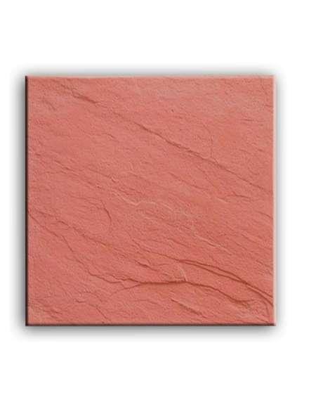 Pizarra roja tratada 40x40