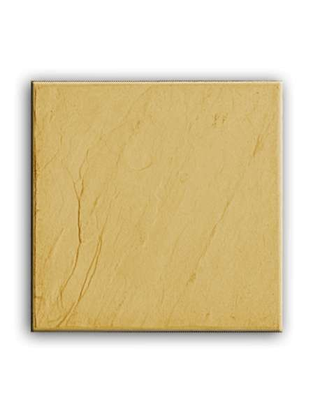 Pizarra amarilla tratada 40x40