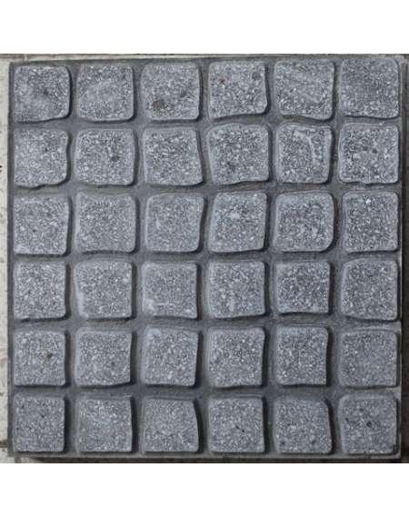 Cuadro romano gris 40x40