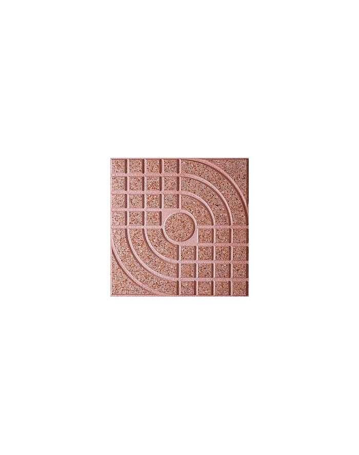 Terrazo rojo n 20 pulido 40x40 for Terrazo exterior 40x40