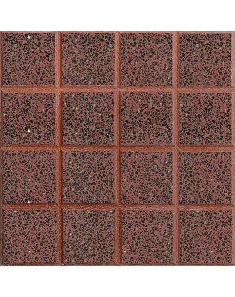 Terrazo rojo n 16 pulido 40x40 for Terrazo exterior 40x40