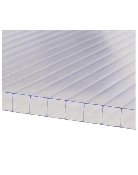 Placa plana policarbonato