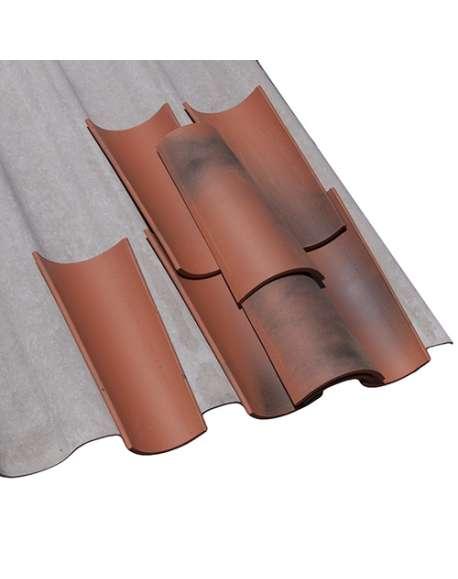Placa fibrocemento 234 GRIS REFORZADA