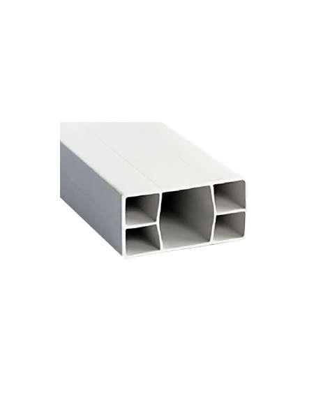 Rastrel PVC 40x20 mm