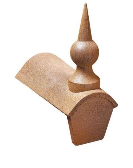 Pináculo cumbrera para teja Teide