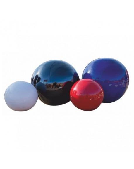 Maceta de barro esmaltada Esfera
