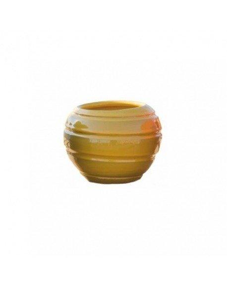 Maceta de barro esmaltada Mini bola