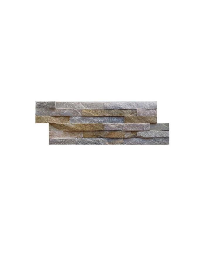Plaqueta decoracion de piedra natural beige s m - Plaqueta decorativa piedra ...